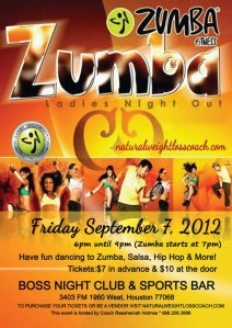 Zumba Ladies Night Out